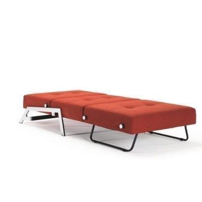 orange day bed