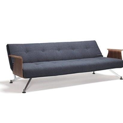 dark blue sofa bed