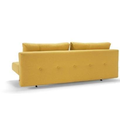 yellow sofa bed