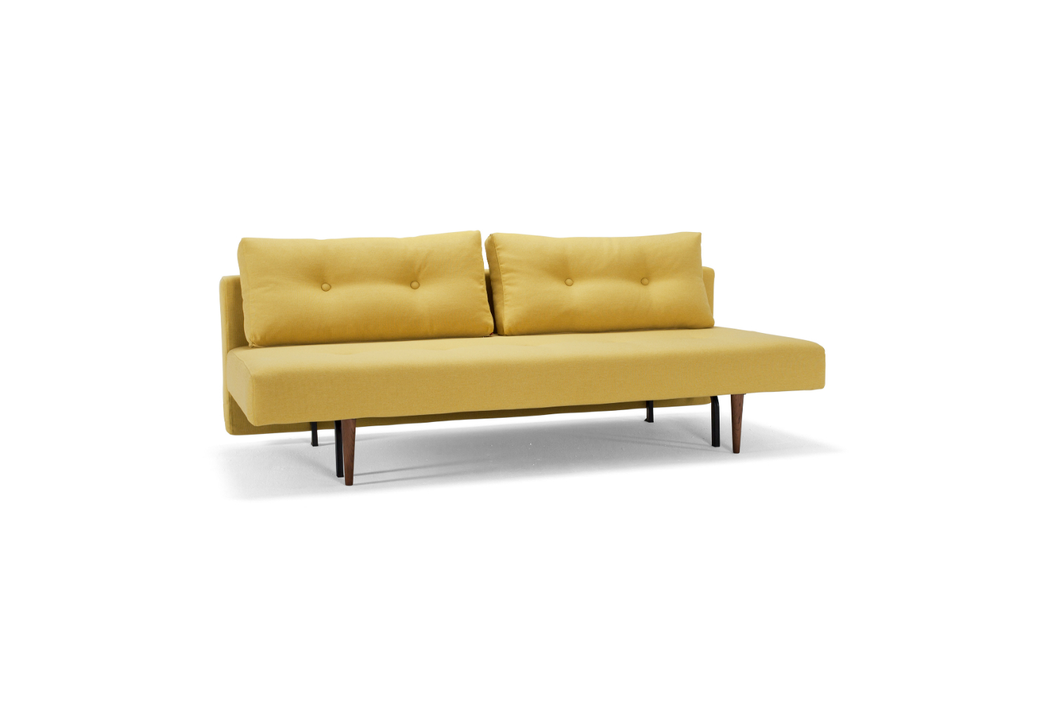 Istyle 2015 recast 554 softmustard flower sofa bed sofa for Sofa bed australia