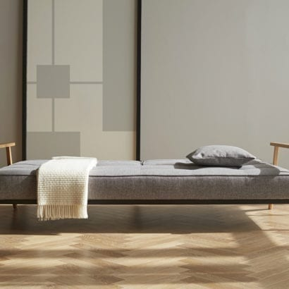 grey day bed