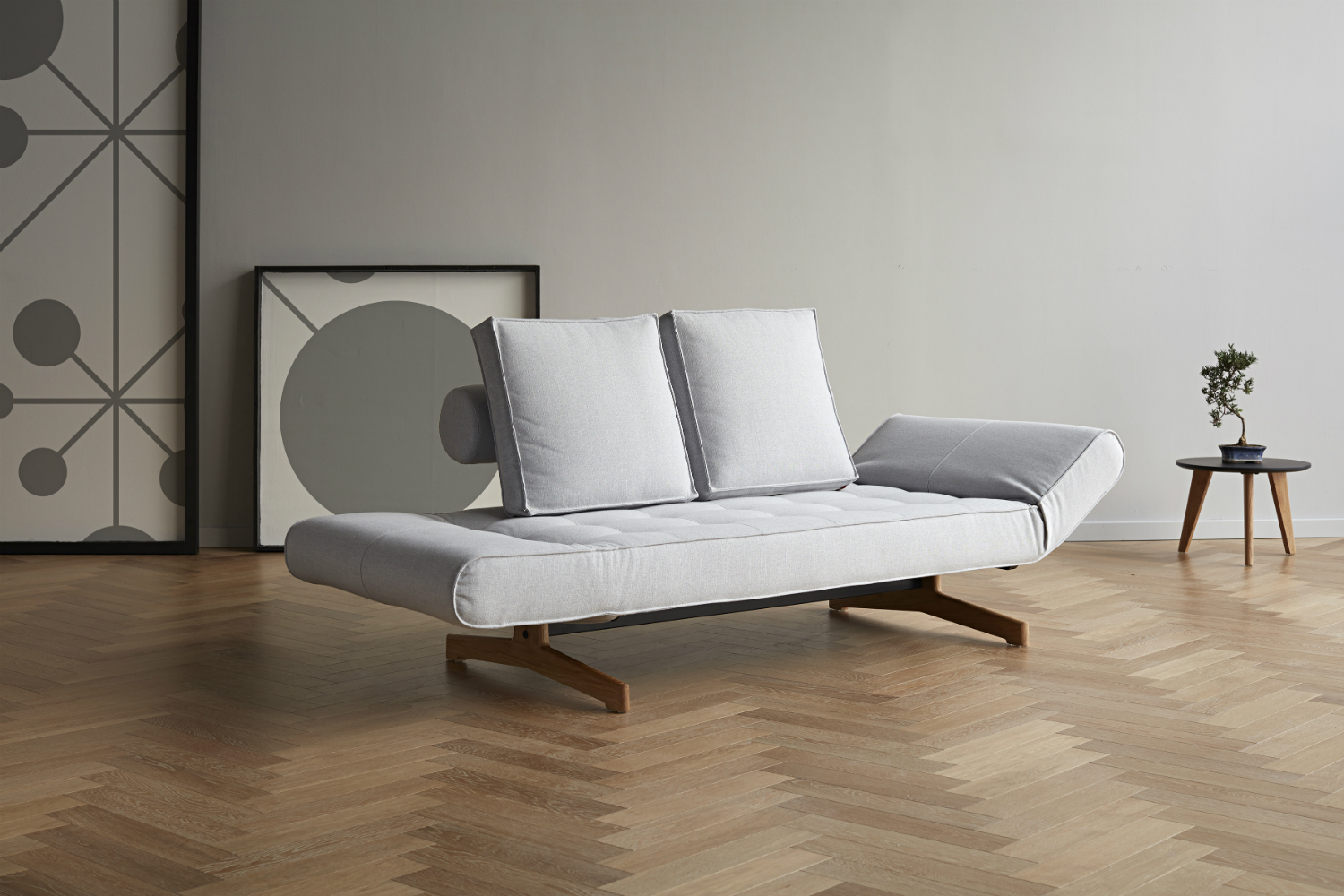 Ghia Wood Sofa Bed Innovation Living Melbourne