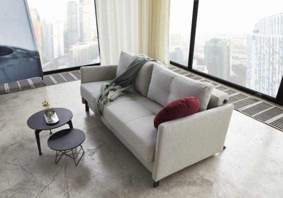 city apartment lounge