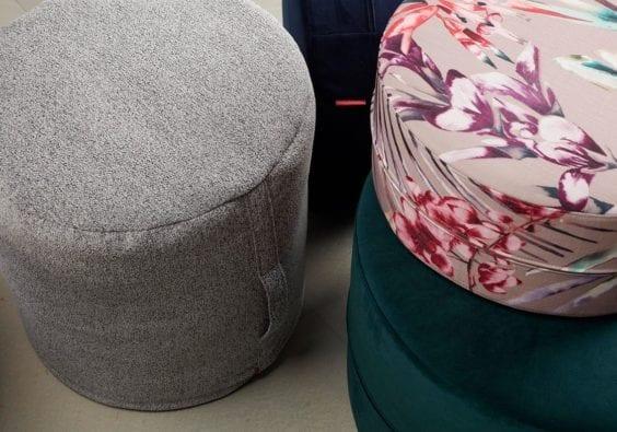 colourful sitting cushions