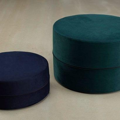 green storage cushion