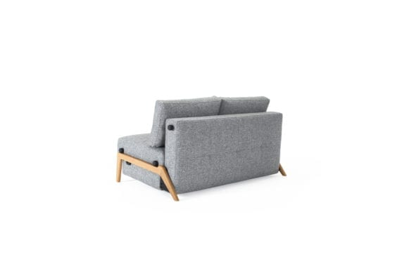 fold out grey sofa bed