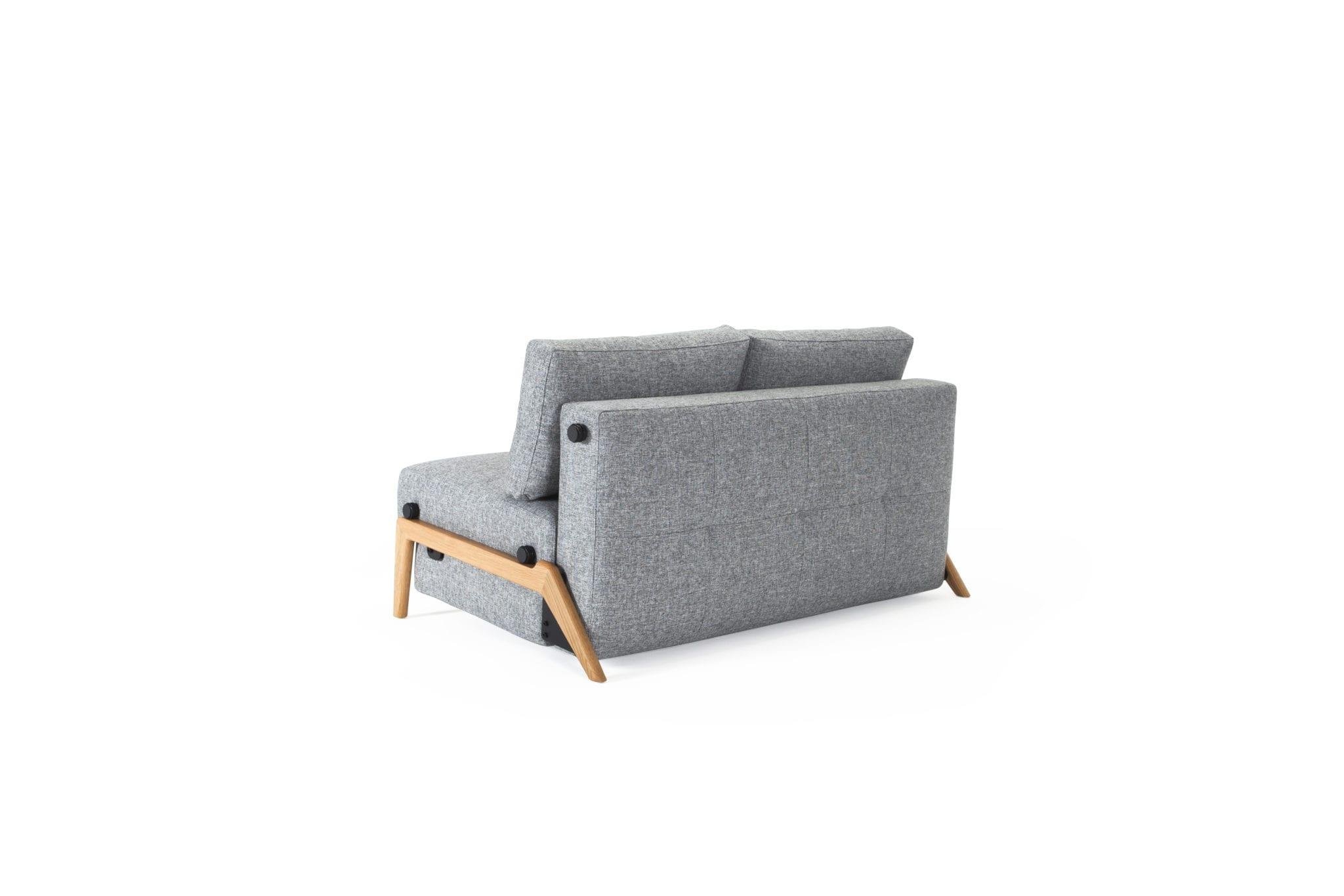 Cubed 140 Wood Sofa Bed Innovation Living Melbourne