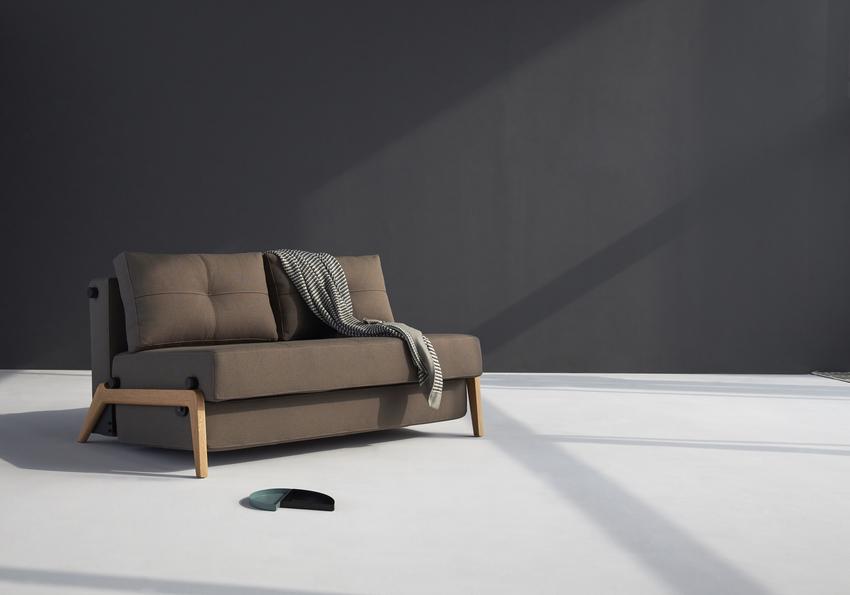 Cubed 160 wood sofa bed innovation living melbourne Sofa 160 cm lang