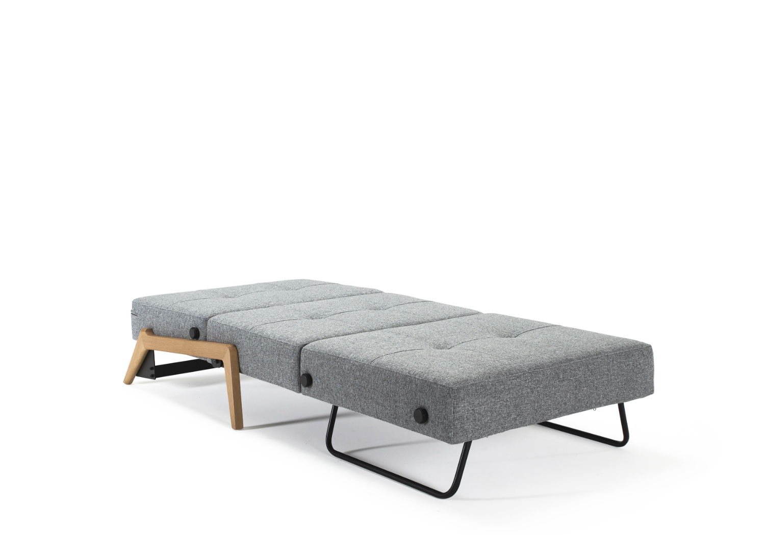 Cubed 90 wood sofa bed single innovation living melbourne for 90 cm sofa bed