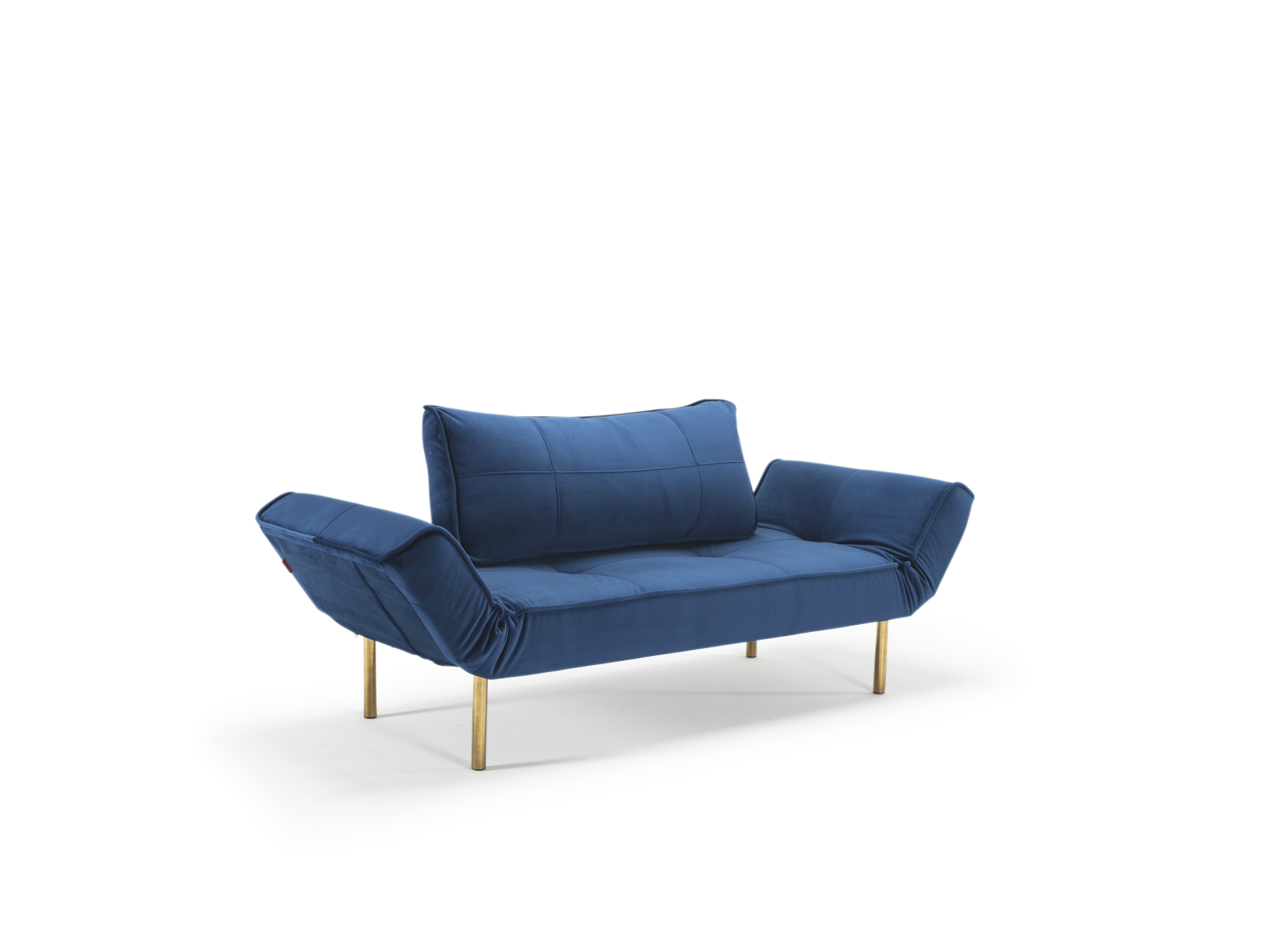Zeal daybed 542 velvet royal blue 1 innovation living for Sofa bed australia