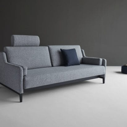 light grey sofa