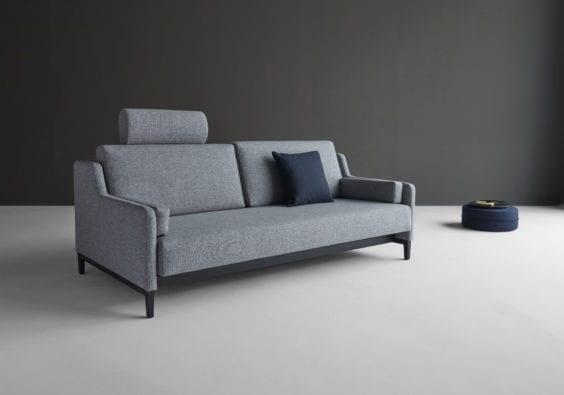 light grey sofa