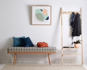 Goldie Bench and Scandi Bedroom Tidy