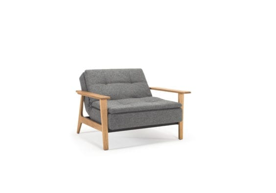 fold out grey chair