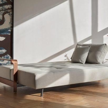 light grey sofa bed
