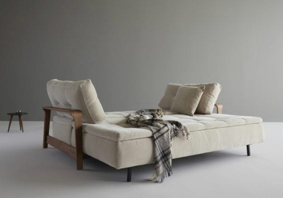 beige sofa bed