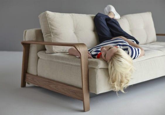 girl on sofa