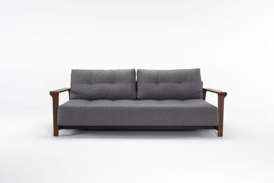 charcoal sofa bed
