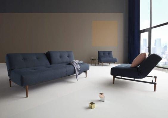 navy sofa bed