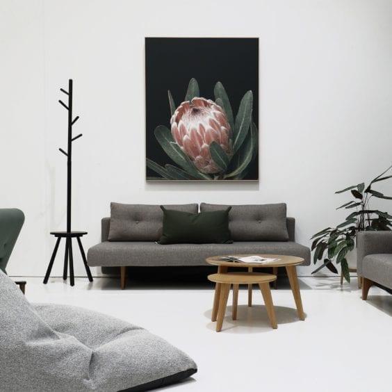 scandinavian style lounge