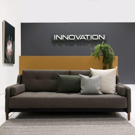 sofa in reception area