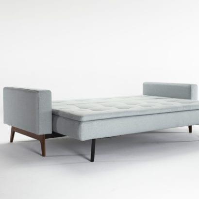 light blue sofa bed