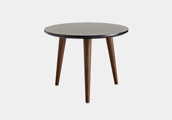 medium black table