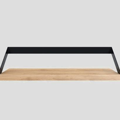 wooden hanging shelf