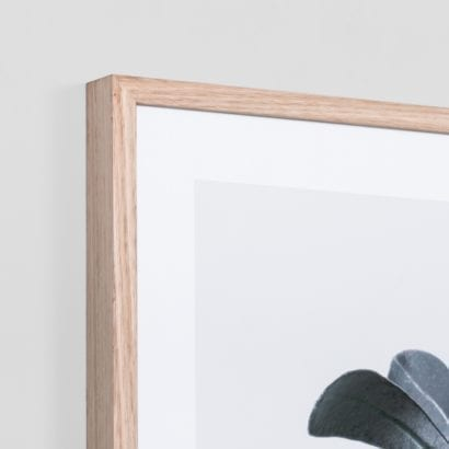 corner of picture frame