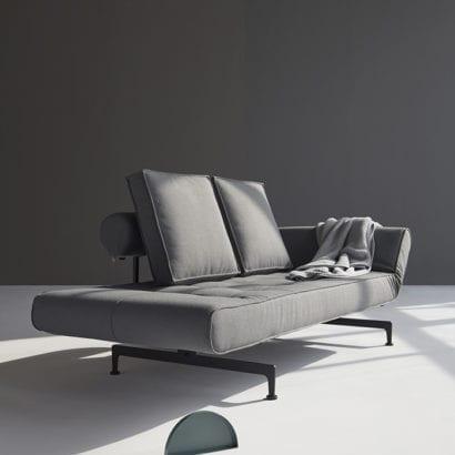 grey geometric sofa