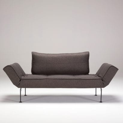 brown daybed