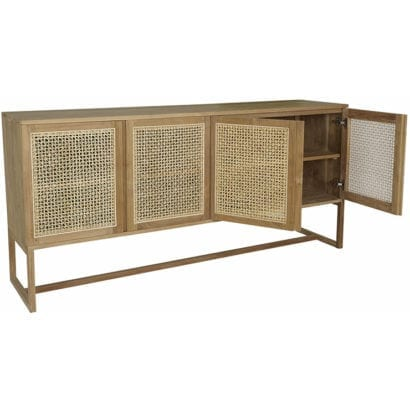 danish wooden cabinet