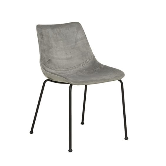 grey occasional chair