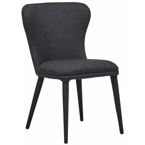 charcoal occasional chair
