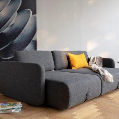 large grey sofa