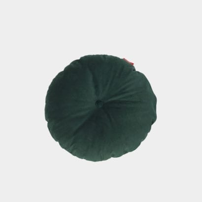 dark green cushion