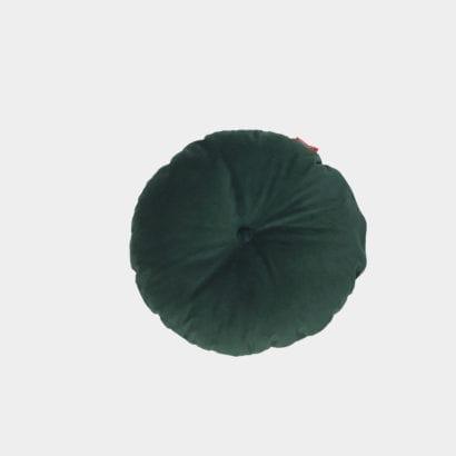 dark green cushion
