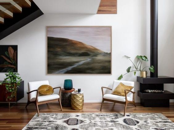 danish style living room