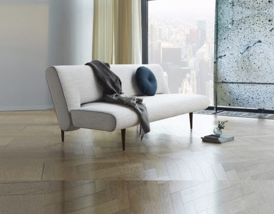 linen light grey sofa